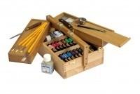 Coffret bois 16 tubes huile fine Pallio - Idées cadeaux - Dalbe - Majuscule - Voir en grand