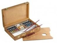 Coffret acrylique 10 couleurs Prismo2  - Idées cadeaux - Dalbe - Majuscule - Voir en grand