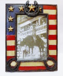 Cadre photo USA - DECORATIONS WESTERN / AMERINDIENS - DECO US COUNTRY - Voir en grand
