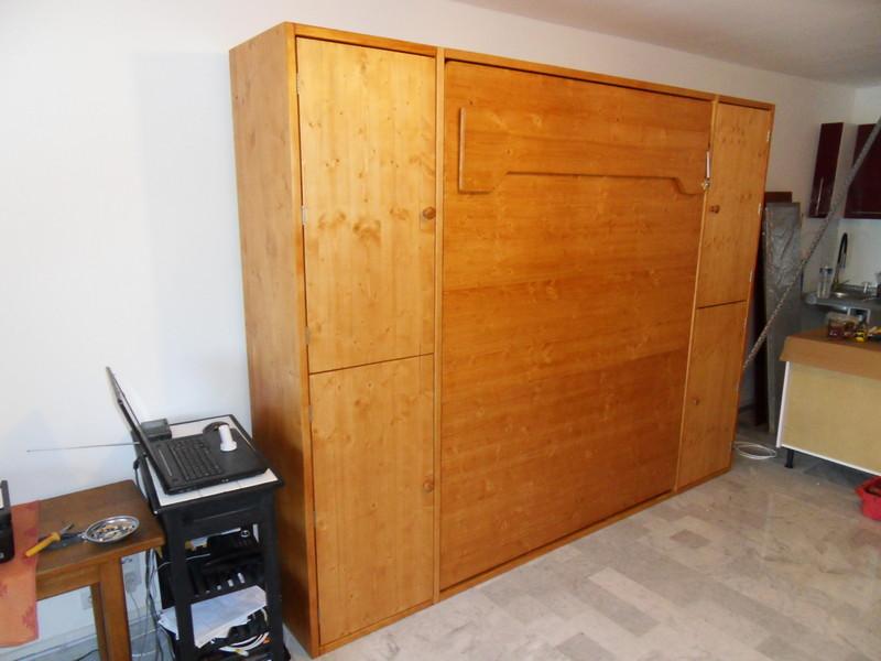lit relevable 160x200 2 armoires vercors literie. Black Bedroom Furniture Sets. Home Design Ideas