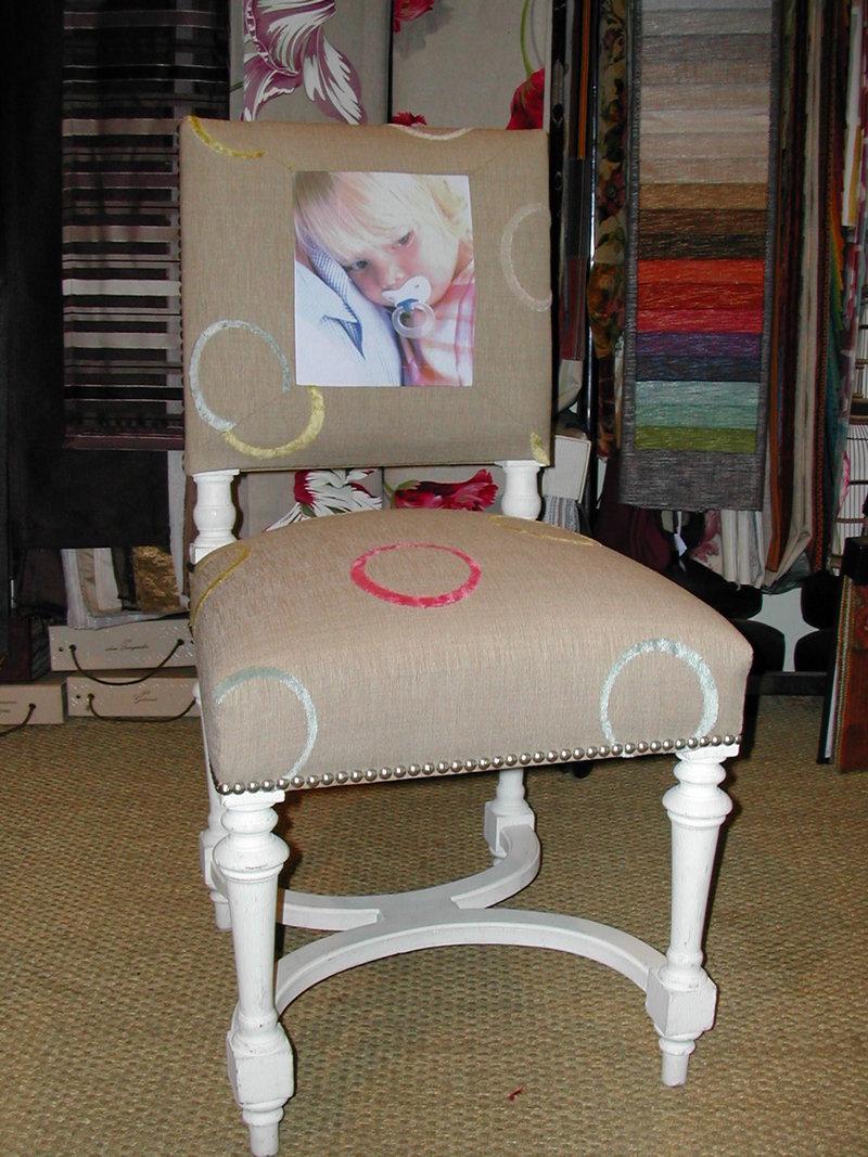 chaise henri ii paco tourte tapissier createur ofa original french armchair. Black Bedroom Furniture Sets. Home Design Ideas