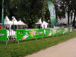 Stand VIP TEISSEIRE tour de france 2011 - Voir en grand