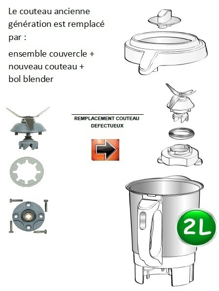 Accessoires et pi ces blender soup co moulinex lm90 mena - Moulinex soup and co ...