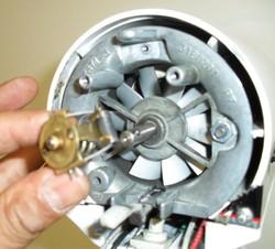 Démontage commande robot kitchenAid classic artisan ultra power