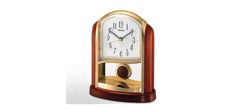 pendule poser et pendulette seiko wegelin grua horlogers. Black Bedroom Furniture Sets. Home Design Ideas
