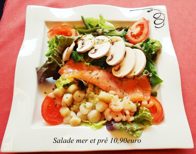 Salade de la mer au restaurant le st marcell 39 inn le st for Restaurant la cuisine grenoble