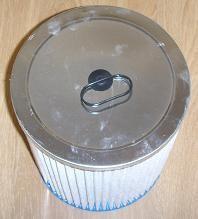 cartouche filtre poussières fines Aquavac AZ9030875 - Voir en grand