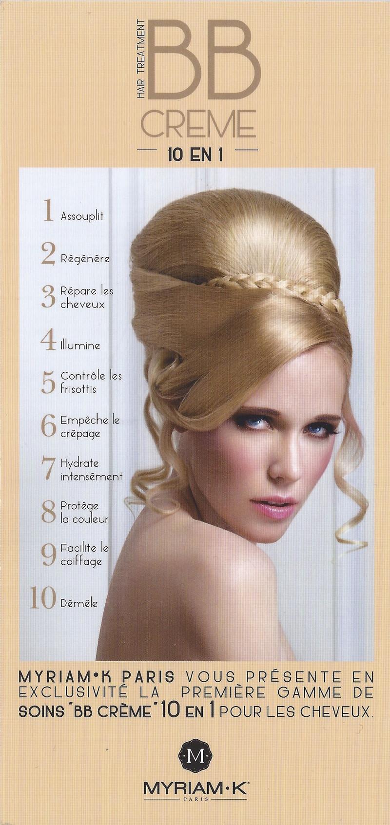 Bb creme masque hydratant myriam k 200ml cezard coiffure for Myriam k salon