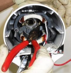 Décablage inducteur moteur robot kitchenAid classic ultra power artisan