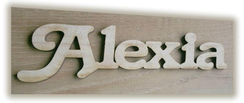 lettres en bois de ch ne d coup es la forme plaque houyann amalgame imprimeur graveur. Black Bedroom Furniture Sets. Home Design Ideas