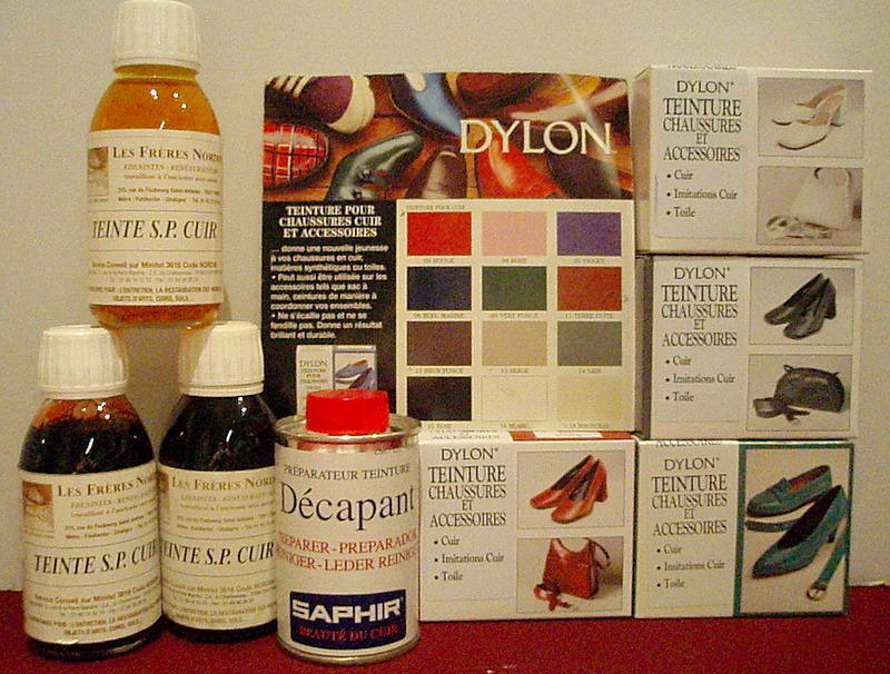 teindre le cuir droguerie journet alpes couleurs. Black Bedroom Furniture Sets. Home Design Ideas