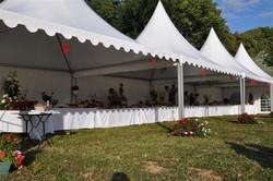 Garden cottage 5mx20m pour un buffet mariage à BRIE ENGONNE - Voir en grand