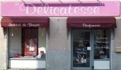 delicatesse devanture boutique la mure rue du breuil institut de beaute sothys - Voir en grand