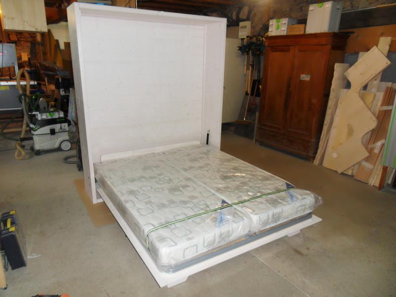 lit escamotable en double couchage vercors literie. Black Bedroom Furniture Sets. Home Design Ideas
