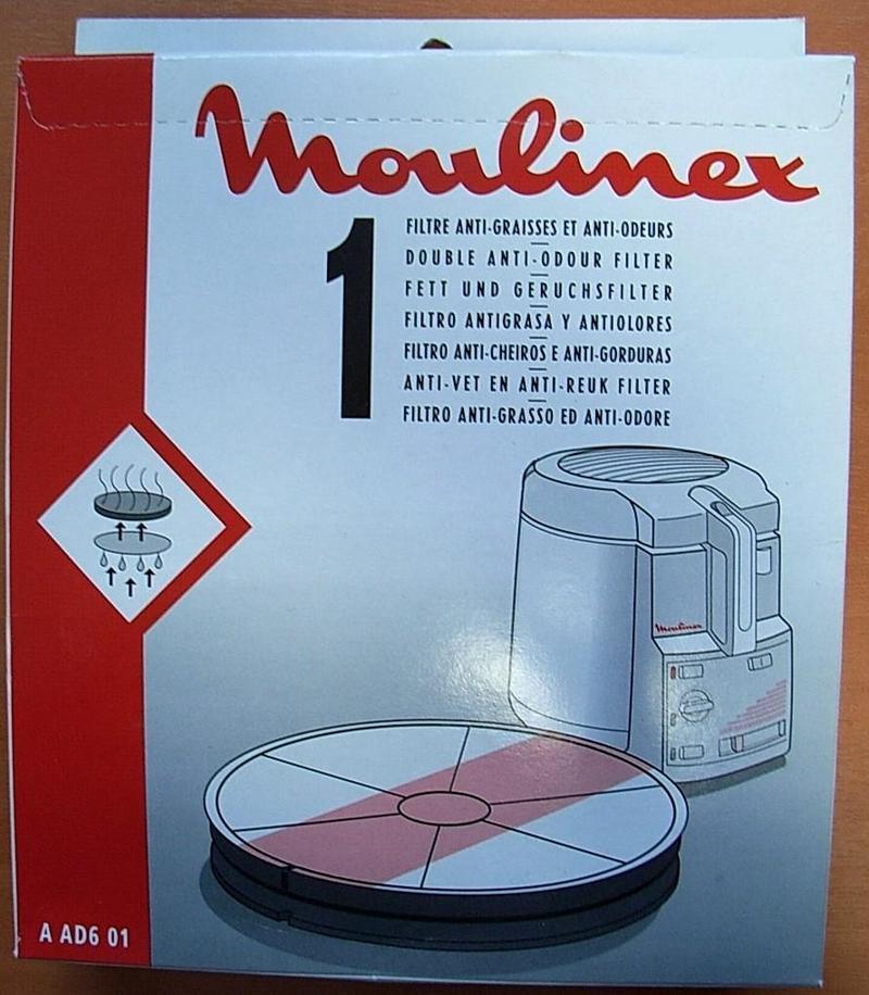 1 filtre anti graisses odeurs friteuse moulinex mena isere service pi ces d tach es et - Friteuse moulinex pro first ...