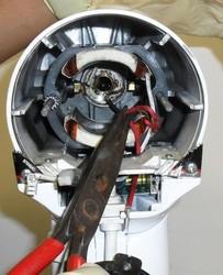 décablage cplt inducteur moteur robot kitchenAid classic artisan ultra power