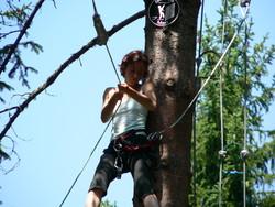 Parcours + 16 ans, parcours aventure ,acrobranche -  - INDIAN FOREST CHARTREUSE - Voir en grand