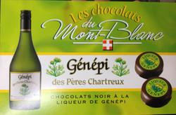 Chocolats au Génépi - douceurs et friandises - AUX GOUTS DU TERROIR - Voir en grand