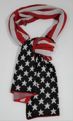 Echarpe stars and stripes - ECHARPES - FOULARDS - DECO US COUNTRY - Voir en grand