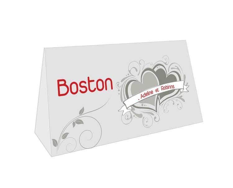 chevalet de table carton porte nom et n de table vencelas amalgame imprimeur graveur. Black Bedroom Furniture Sets. Home Design Ideas