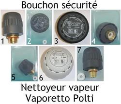 Bouchon sécurité Polti Pièces détachées Vaporetto accessoire - Pièces détachées et accessoires Polti - MENA ISERE SERVICE - Pièces détachées et accessoires électroménager - Voir en grand
