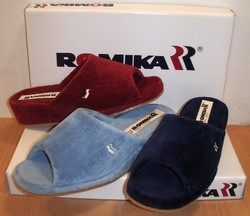 Mule éponge ROMIKA modèle PARIS - Chaussures et mules conforts, pieds sensibles  ROM - CHAUSSURES BERGER - Voir en grand