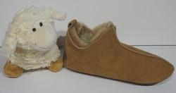 Pantoufles lutin 100 % en agneau double face : idée cadeau - Idées cadeaux - La Petite Boutique - Voir en grand
