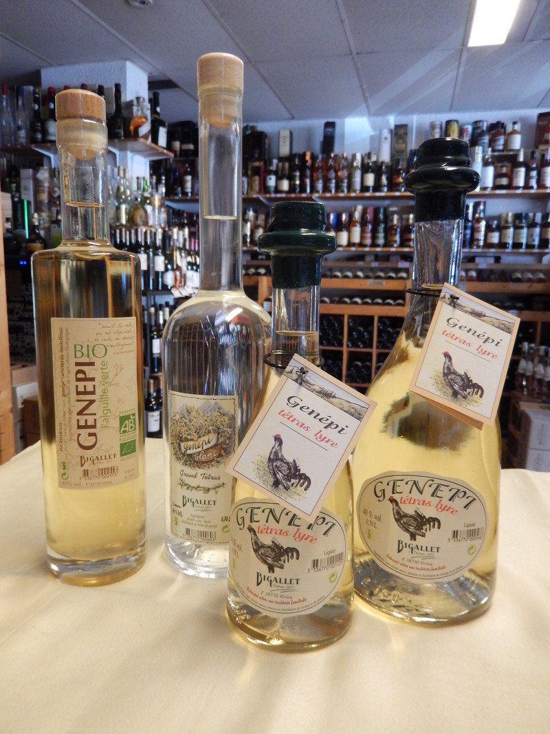 Bigallet sirops liqueurs achat grenoble for Cocktail genepi