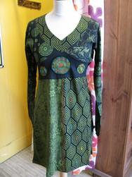 robe game Goa verte - Voir en grand
