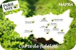 Carte de fidélité - MAFRA Point Vert dans les Vosges - Voir en grand