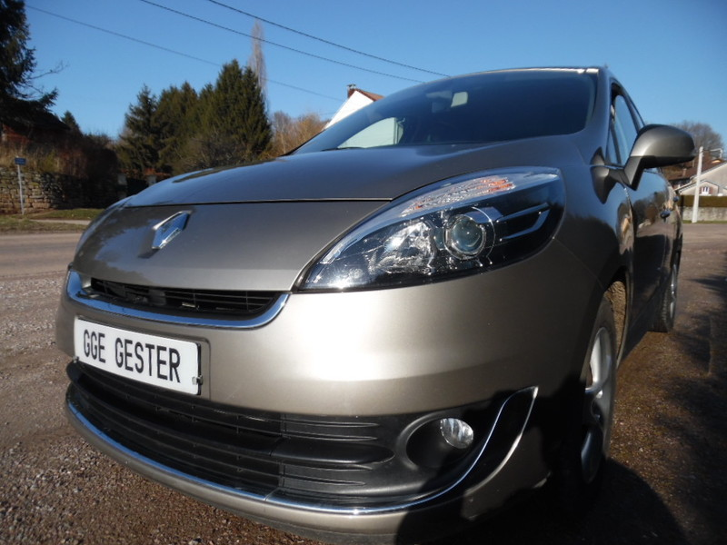 Renault grand scenic iii ph2 1 5 dci 110 gps 28334 kms for Grand garage feray renault