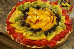 tarte délice aux fruits frais - Voir en grand