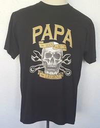 T-shirt Papa The Man The Myth The Legend - T-SHIRT A MESSAGE - TIME'S - CADEAUX PERSONNALISES - Voir en grand