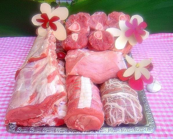 Le veau à la boucherie wittmann brand