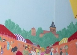 Marché de Montsauche les Settons