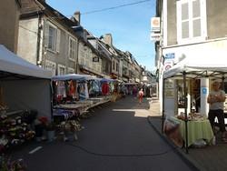 Sur le marché de Corbigny