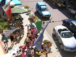 Au marché à Lormes