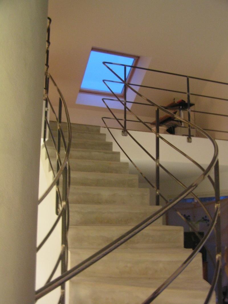rampe interieure acier moderne charollais brionnais serrurerie c b s. Black Bedroom Furniture Sets. Home Design Ideas