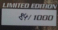 Edition limité