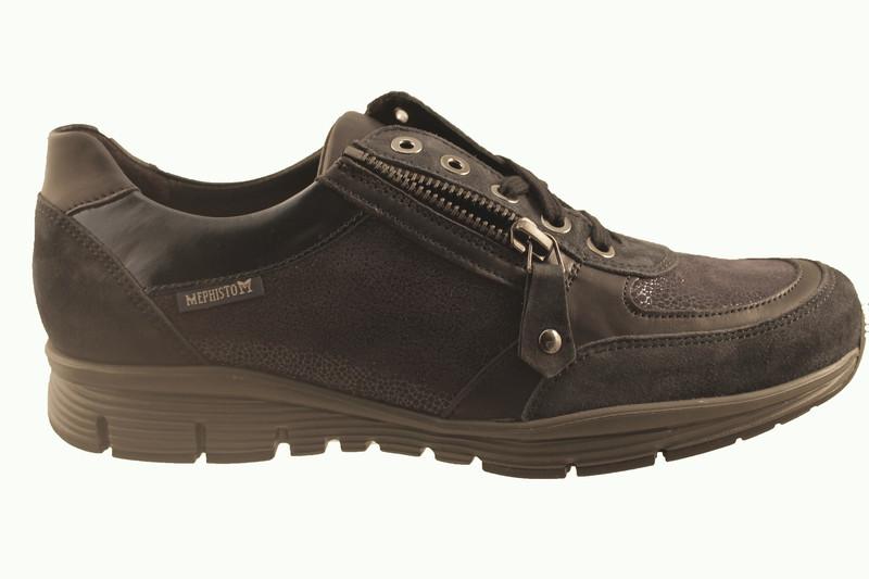 chaussure pour semelle orthopedique femme detente ARYLONA - Chaussure Orthopédique VELCRO & LACET - PODOMODE - Voir en grand