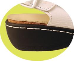 chaussure et semelle orthopédique femme NU PIED AQ1008914-8