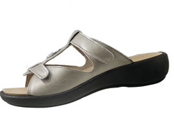 chaussure pour semelle orthopédique femme mule AQIBIZA107-