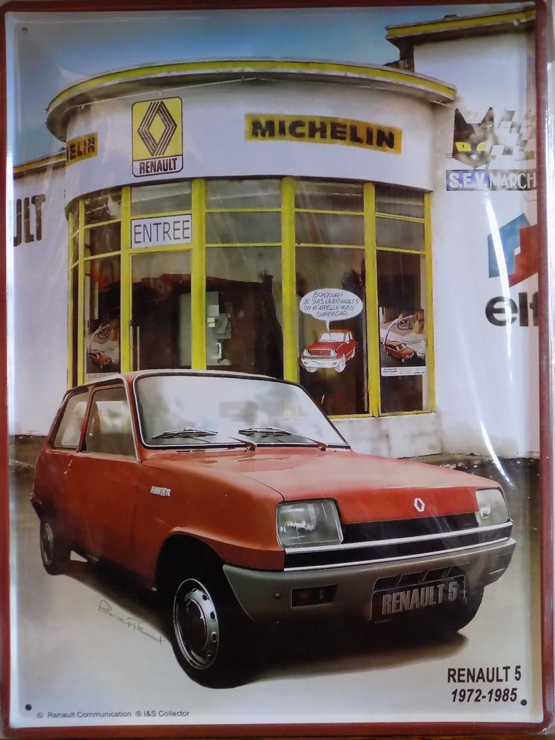 plaque m u00e9tal vintage renault