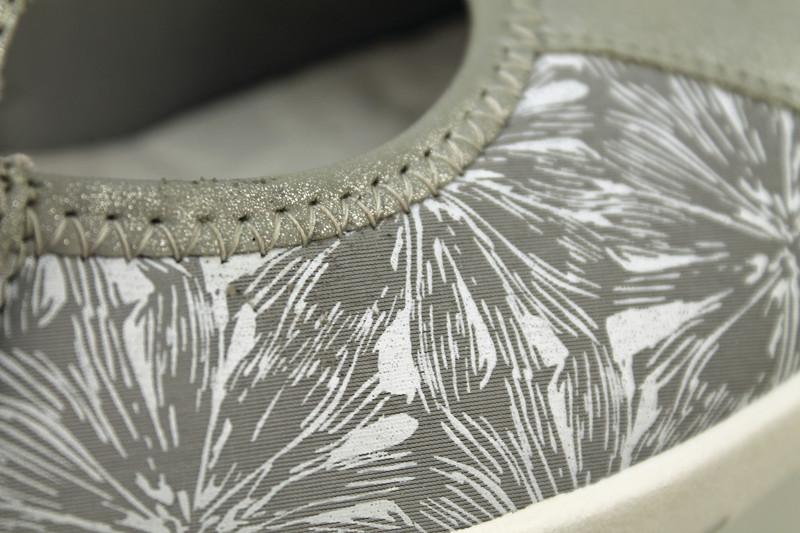Chaussure pour semelle orthopédique femme ballerine AQR3510-6 - Voir en grand