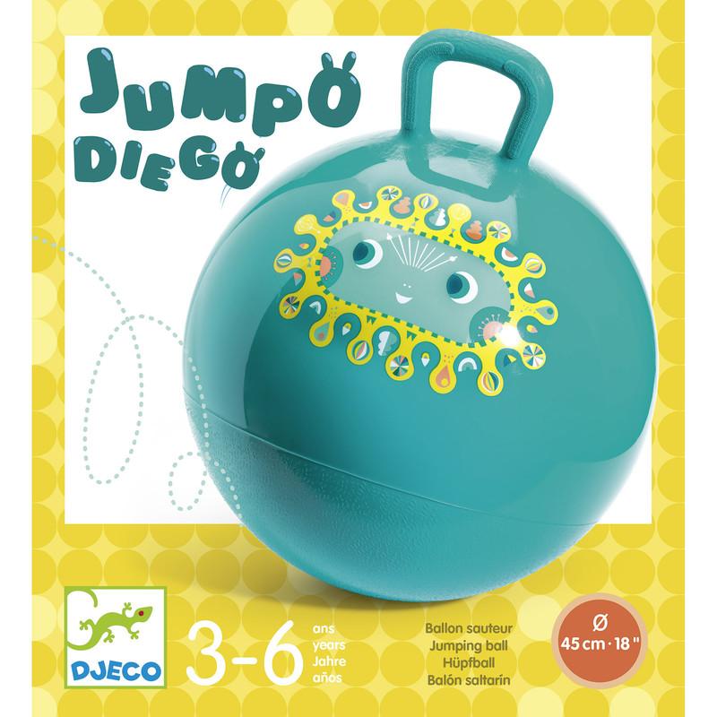 Ballon sauteur Djeco - Voir en grand