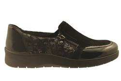 chaussure pour semelle orthopedique femme detente AN41068 - Chaussure Orthopédique DETENTE, MOCASSIN & BALLERI - PODOLINE - Voir en grand