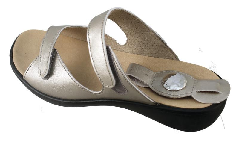chaussure pour semelle orthopédique femme mule AQIBIZA107-3 - Voir en grand