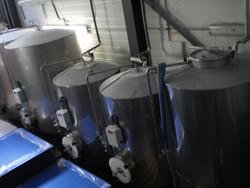 BRASSERIE ALPINE : CAVE INOX FERMENTATION