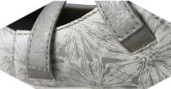 chaussure semelle orthopédique fem ballerine AQR3427-2 - Voir en grand