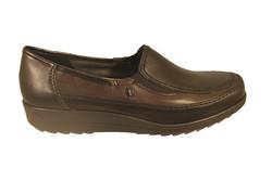 chaussure pour semelle orthopedique femme détente AH46336 - Chaussure Orthopédique DETENTE, MOCASSIN & BALLERI - PODOLINE - Voir en grand